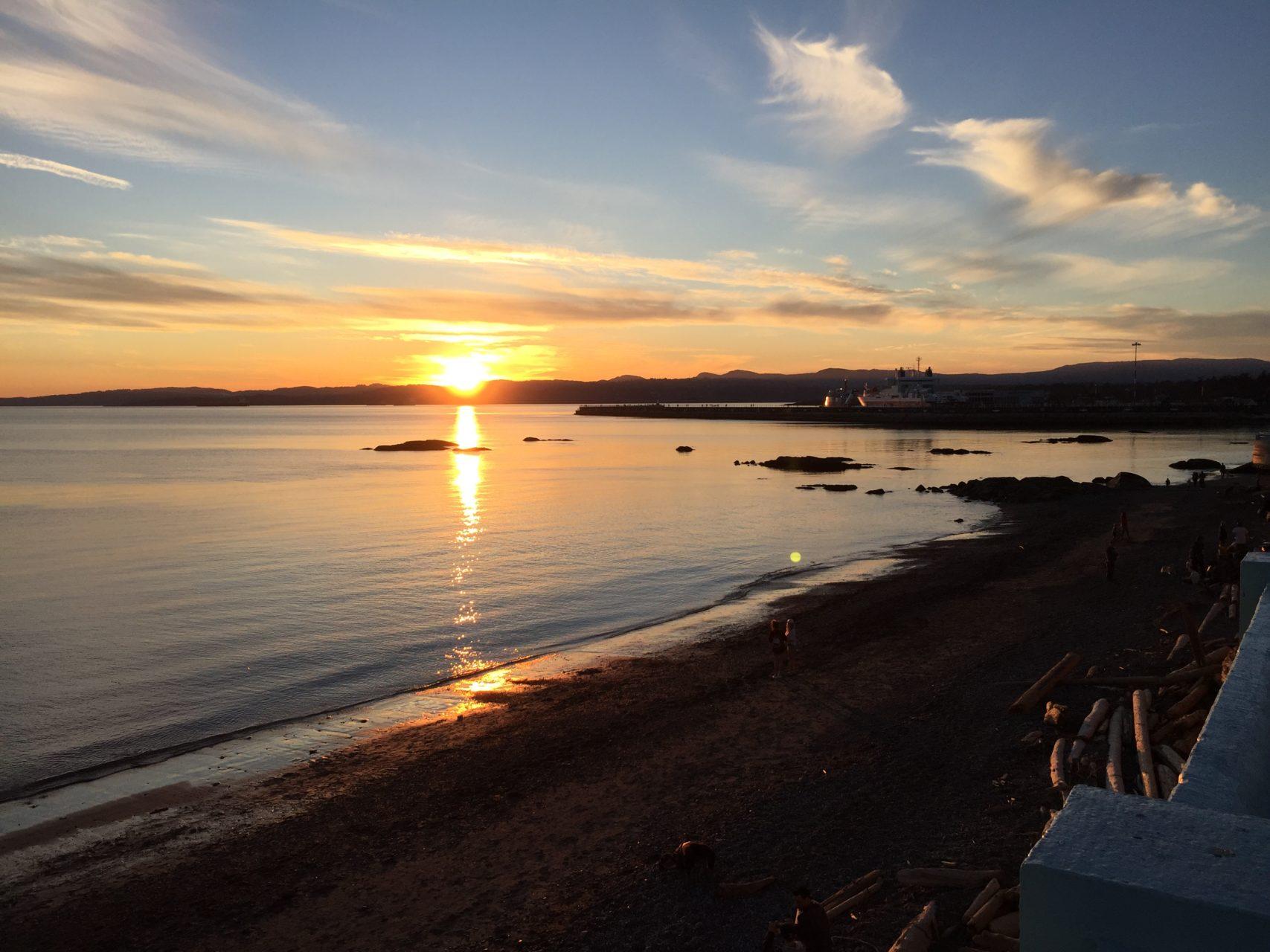 Sonnenuntergang Victoria