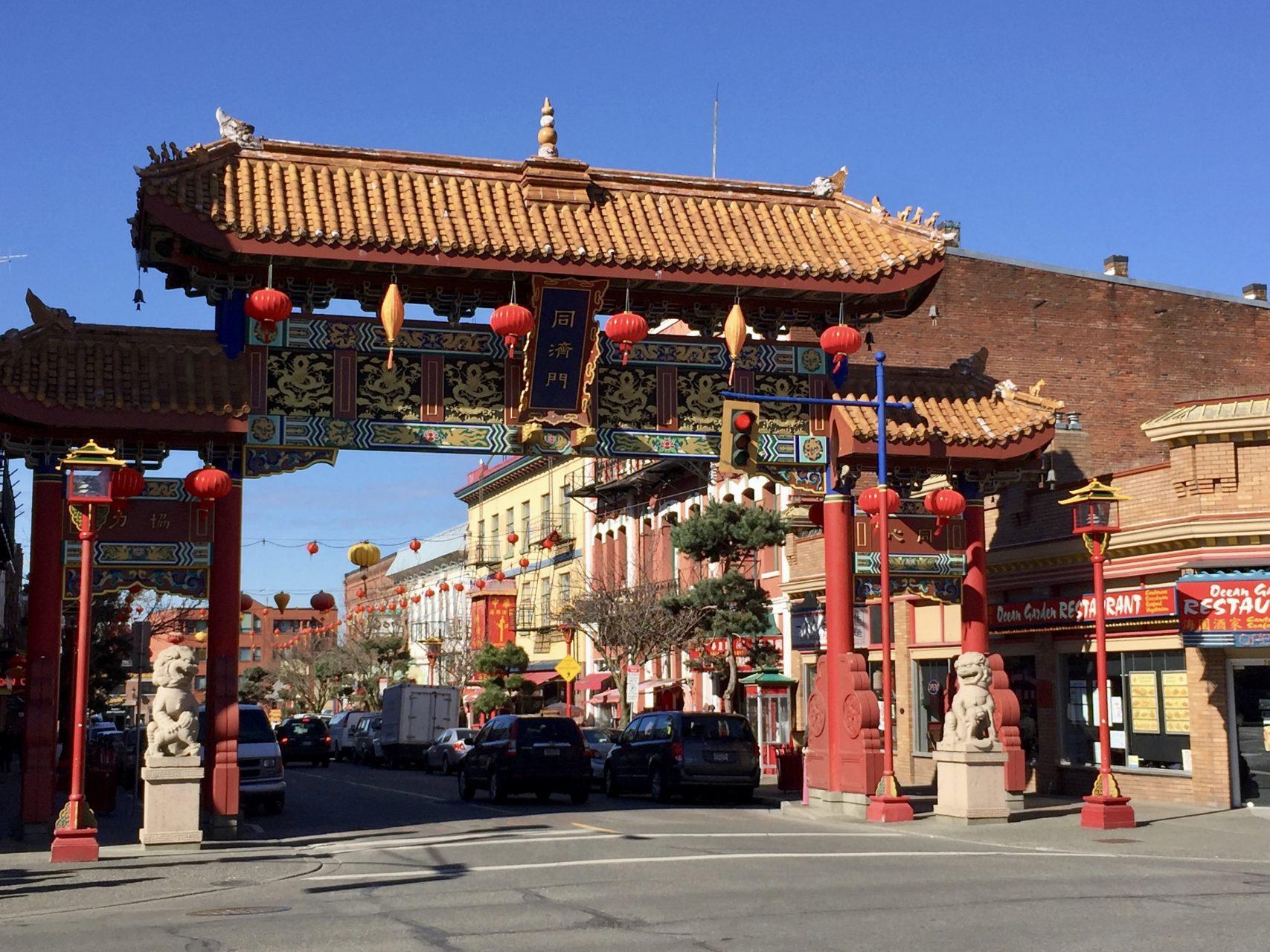 Chinatown Victoria Eingangstor